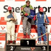 Commanding Win by Chris Ward at Snetterton
