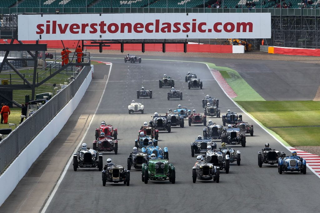 The Bentley Boys return to Silverstone Classic in honour of Glen ...