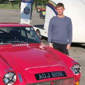 A new face at Motor Racing Legends