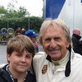 Derek Bell Stars in Group C Race at Le Mans