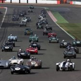 Woodcote Trophy at the Silverstone Classic 2103