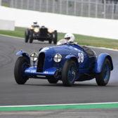 Thundering Bentley pips feisty Alvis to Centenary win