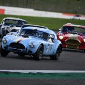 Motor Racing Legends Royal Automobile Club Historic Tourist Trophy Meeting Lifts the Mood with an End of Season Thriller that will Live Long in the Memory.